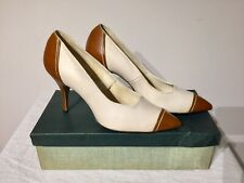 Vintage Classic Size 9C 1970's Era Ladies High Heel Shoes Nos