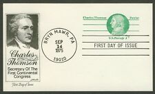 #UX68 7c Charles Thomson, Artmaster FDC **ANY 4=FREE SHIPPING**