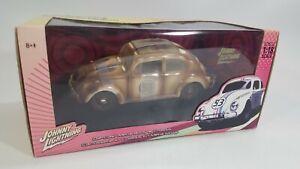 Johnny Lightning VW Beetle Herbie Fully Loaded Junkyard Herbie 1:18 Scale New