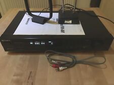 FM Estéreo Sony ST-S311/Sintonizador FM-AM RDS EON Hi-fi incluso am Ariel separadas.