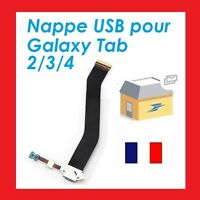 NAPPE CONNECTEUR DE CHARGE SAMSUNG GALAXY TAB 2 TAB 3 TAB 4 NOTE 10