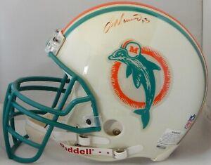 Dan Marino Miami Dolphins Signed Full Size Authentic Helmet UDA Authenticated
