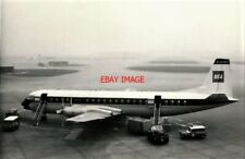 PHOTO  VICKERS VANGUARD 953 G-APER 'AMETHYST' AT HEATHROW AIRPORT MAY 1963