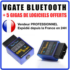 VGATE SCAN BLUETOOTH - Interface Diagnostique MULTIMARQUES - ELM327 VAG COM OBD2
