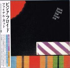 """Pink Floyd """"The Final Cut"""" Japan LTD Mini LP CD w/OBI"""