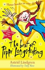 The Best of Pippi Longstocking: Three Books in One By Astrid Lindgren, Tony Ros