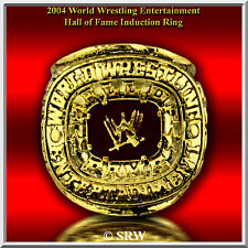 2004  Hall OF FAME INDUCTION RING 24K GOLD PLATED SIZE 12