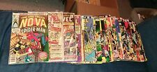 amazing 50 issue bronze age spiderman comic lot spectacular marvel tales team up