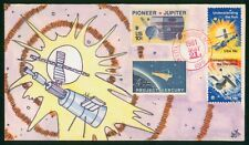MayfairStamps US Unsealed 1981 Hand Painted Space Ship Combo Cover wwr13069