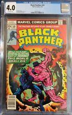 Black Panther #10 (Jul 1978, Marvel) CGC 4.0 Comic Book, Jakkara, Wakanda