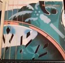 DIRE STRAITS - SO FAR AWAY - WALK OF LIFE - E.P. 45 GIRI vinile 1985
