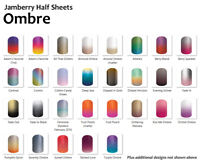 Jamberry OMBRE Nail Wraps ~ Half Sheet, In-stock, FREE SHIPPING
