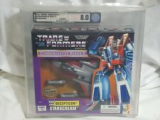 NEW Transformers STARSCREAM Commemorative Series II AFA 8.0 Graded star scream 2