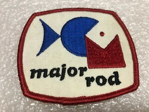 Vintage Major Fishing Rod Patch