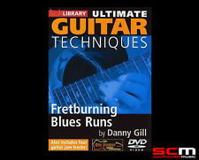 Lick Library Ulitmate Guitar Techniques Fretburning Blues Runs DVD FREE P+H!