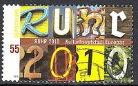 2776 Rundstempel gestempelt BRD Bund Deutschland Jahrgang 2010