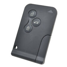 Car Uncut Remote Card Smart Key Shell Case For Renault Megane Scenic 2 Clio 3