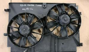 CHEVROLET CORVETTE C5 1997-2005 Radiator ELECTRIC COOLING FANS SHROUD 24001282