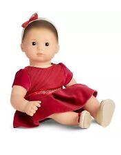 New Bitty Baby Christmas Dress, Shoes & Headband