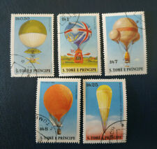 Sao Tomé Principe -1979 History of Aviation - Balloons - O