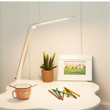 8W Dimmable Touch Sensor 30 LED Light Desk Table Reading Book Lamp + Power