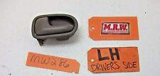 INNER DOOR HANDLE 93-97 626 DRIVER LH LF LR L LEFT SIDE FRONT REAR BACK CAR OEM