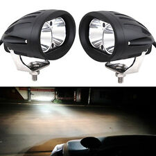 2PCS 20W Cree Spot LED Work DRL Light Driving Fog Offroad 4WD Bar Bright Bravo