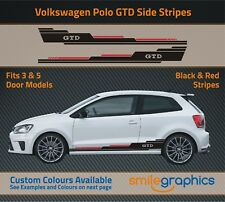 VW Polo GTD Stripe Kit Stickers decals - Other colours available
