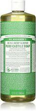 Dr. Bronner's Hemp Pure-Castile Soap Almond 32 oz