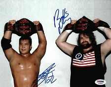 Masato Tanaka & Balls Mahoney Signed ECW 8x10 Photo PSA/DNA COA WWE Picture Auto