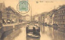 B93590 gand rue de la grue ship bateaux  belgium