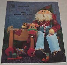 Made From Scratch By Betty Bowers #00802 Grandpa Santa & Rudi Reindeer Craft