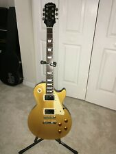 Epiphone by Gibson Les Paul GoldTop Standard MINT Condition w/hard case 0B420