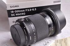 Pour NIKON AF SIGMA 18-300 mm f/3.5-6.3 DC OS HSM