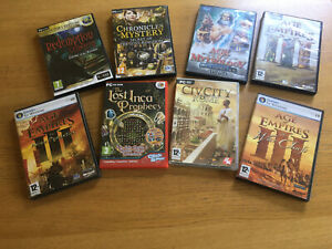 Job Lot Bundle Pc Games AGE OF EMPIRES III Asian Dynasties & WarChiefs Untested