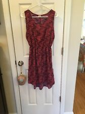 NWOT Needle And Thread From  Nordstrom Pink Black Lightweight Dress S