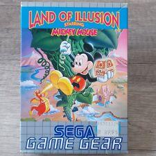 Sega Game Gear ► Land of ilusión St. Mickey Mouse ◄ completamente & en embalaje original | Top