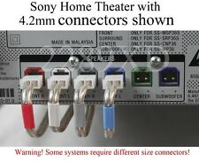 6c speaker cables/wires 77ft 4.2mm made for select Sony/Samsung/Panasonic HTIB