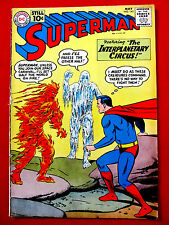 Superman #145 May 1961 DC Original Comic Book VG+ 4.5 The Interplanetary Circus