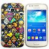 Hülle f Samsung Galaxy Ace 3 S7275 S7270 Schutz Case Tasche Emoticon Comic