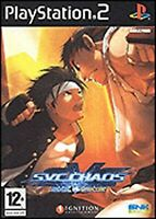 SNK Vs Capcom SVC Chaos PS2 PlayStation 2 Video Game Mint Condition UK Release