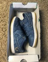 Nike SB Dunk Low TRD QS Denim East West Biggie Tupac Size 6.5 Blue 883232 441
