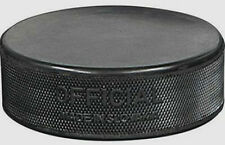 INGLASCO REGULATION PRACTICE 6 oz BLACK PUCK - LOT of 6 *NEW*