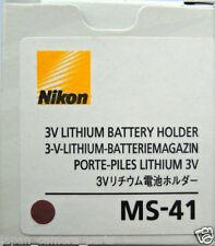 Nikon MS-41 3v Lithium Battery Holder for F6 Genuine