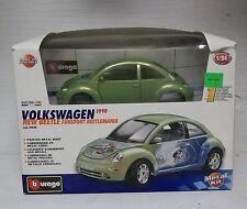 Burago 1998 Volkswagen New Beetle Funsport Beetlemania (Metal Kit)