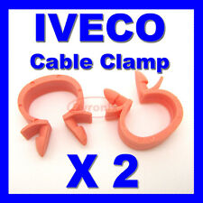 IVECO CABLE PIPE CLAMP WIRES WIRING LOOM HARNESS CLIP HOLDER 14mm X 10mm