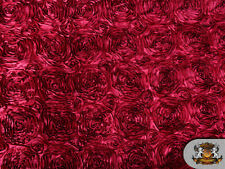 """Rosette Satin Fabric/ 54"""" Wide / Sold by the yard"""