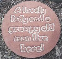 Funny plaque plastic mold for plaster concrete mould
