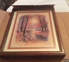 Vintage Homco Home Interiors Andres Copinas 1342 Ao Wood Framed Pictures