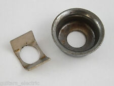 Relic Aged CHROME JACK CUP for 1960's Re-issue Telecaster Made in Japan MIJ CIJ